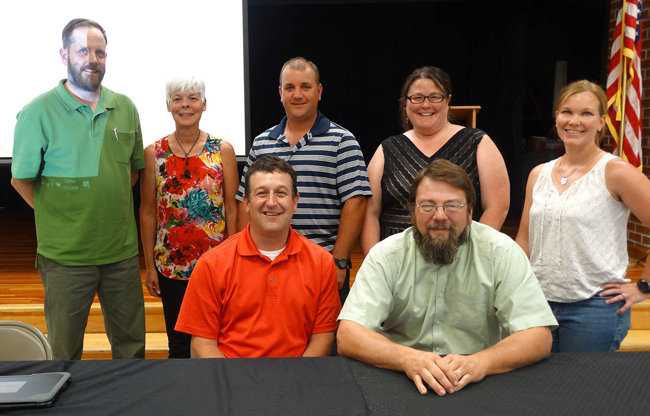 OESJ Board of Education, 2018