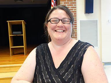 Shellie Walrath, Board of Education member
