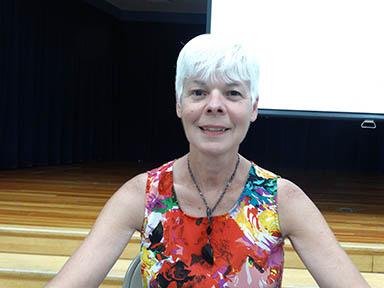 Susanne Sammons, Board of Education member