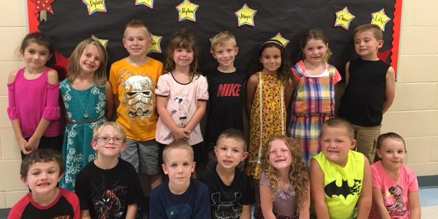 first grade students