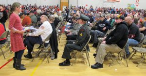 veterans attend assembly
