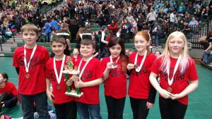 Students win 3rd place in Odyssey of the Mind Competition