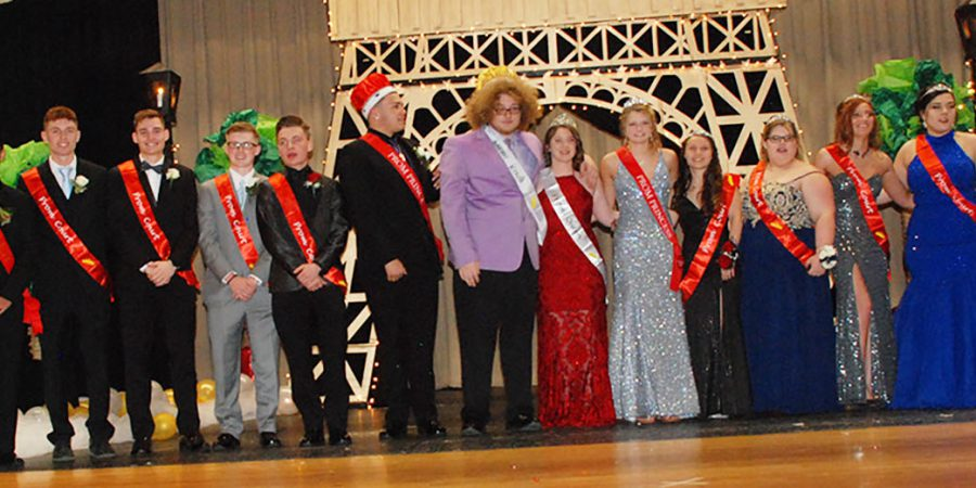 Prom Court 2019 at OESJ