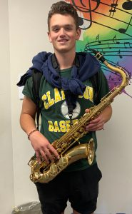 Von Baker selected for Area All State Concert Band