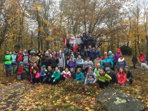 6th Grade Hike Kane Mt.