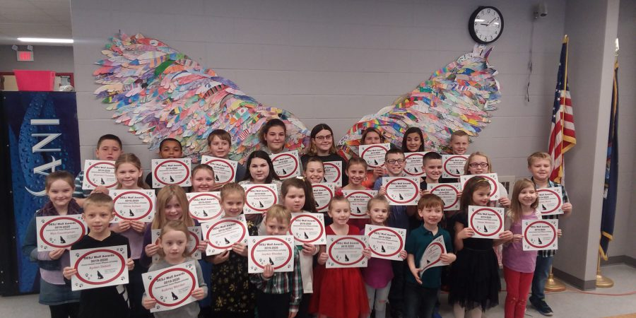 Elementary School Wolf Award Winners