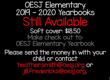 19.20 Elementary Yearbooks Available