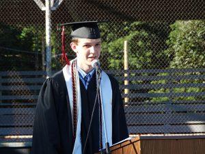 Valedictorian Jesse Watson
