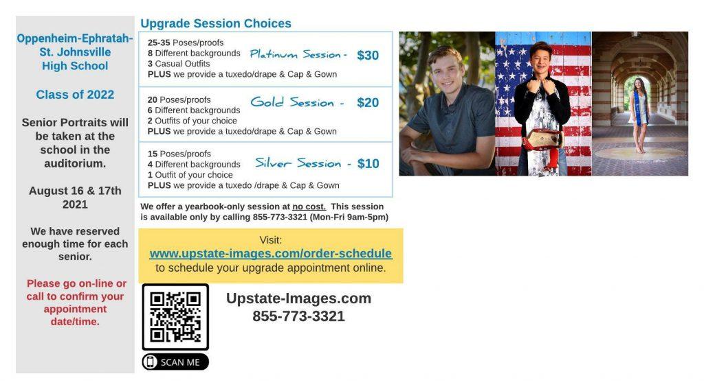 Senior Picture Information