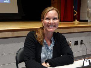 Sarah Barnes, BOE member